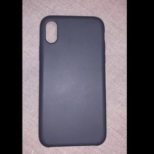 SOLD - Silicone iPhone X case